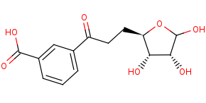 Picture of dehypoxanthine futalosine (click for magnification)