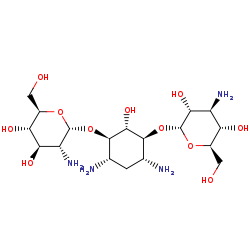 Picture of kanamycin C (click for magnification)