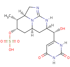 Picture of 7-epi-cylindrospermopsin (click for magnification)