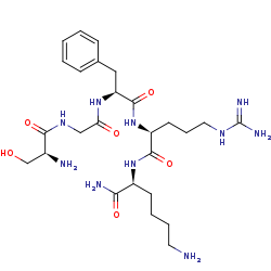 Picture of SGFRK-NH2 (click for magnification)